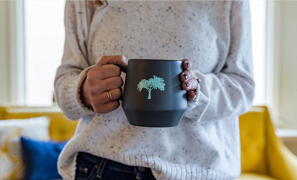 Rosenberg coffee cup