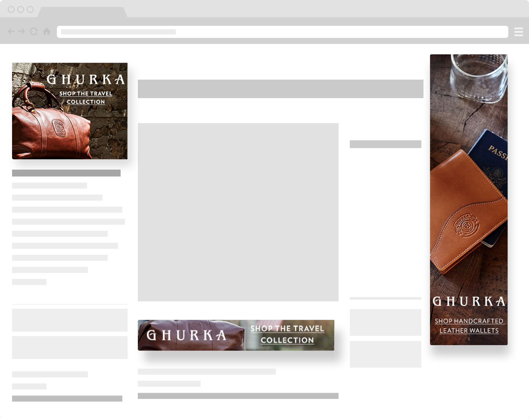 ghurka display ads